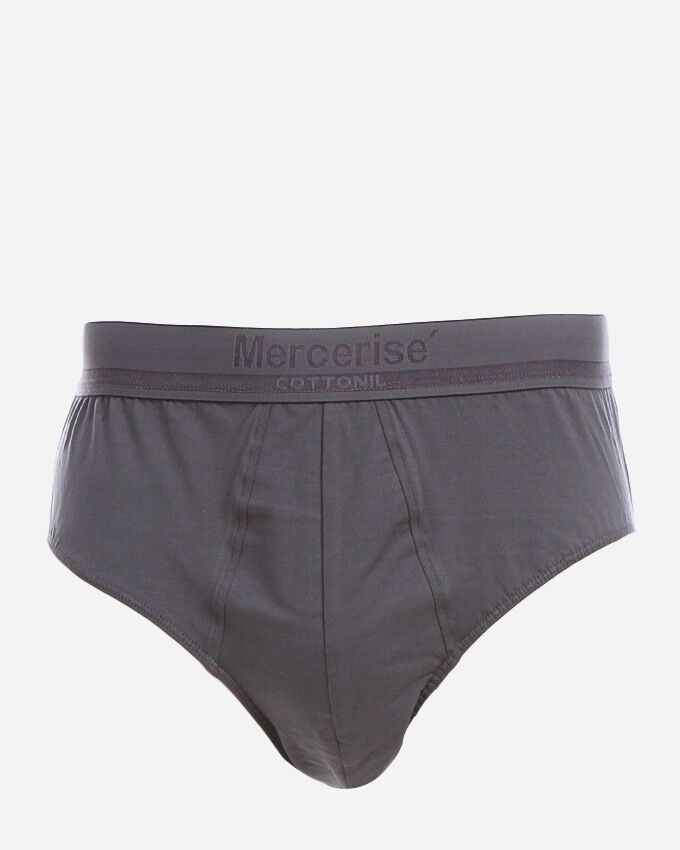 Cottonil Bikini Mercerise' Underwear - Grey