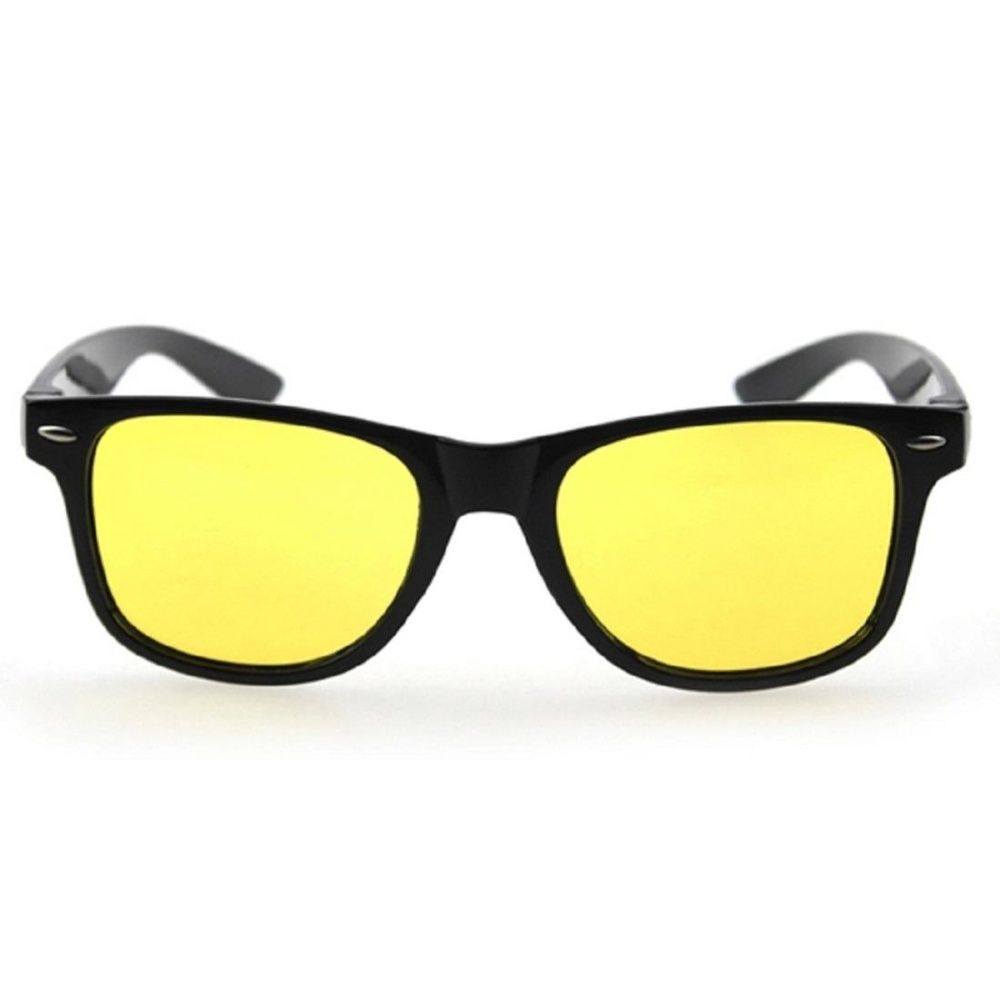 e9529d28e4e Fashion 10Pcs Yellow Lens Driving Sports Cycling Riding Night Vision Sun Glasses  Goggles