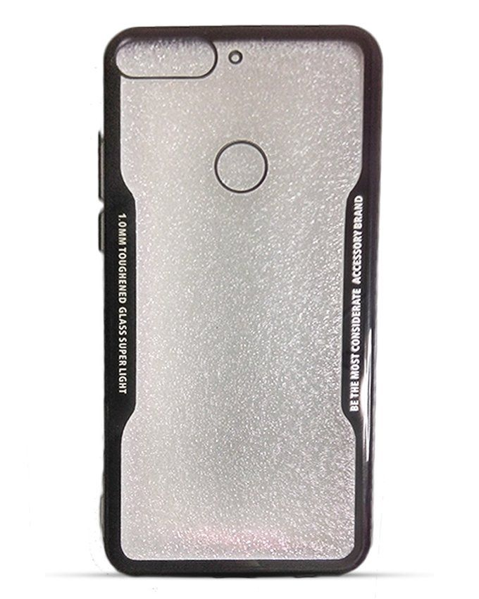 low priced 267f5 f075c Generic Back Cover PC And Frame TPU Case For Huawei Y7 Prime 2018 ...