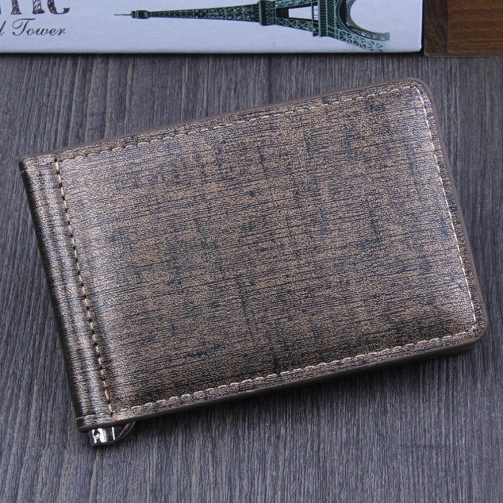 f44099d70c Buy Generic Fashion Men Bifold Business Leather Wallet ID Credit Card  Holder Purse Pockets in Egypt
