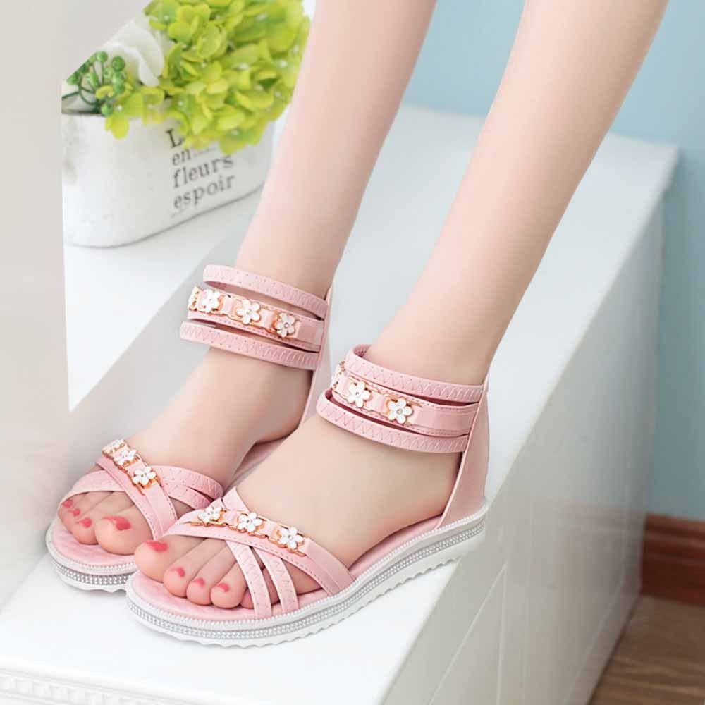 db0f78383e0 No Brand Tectores Women Flat Shoes Summer Soft Leather Leisure Lady Sandals  Peep-Toe Roman Shoes Gift