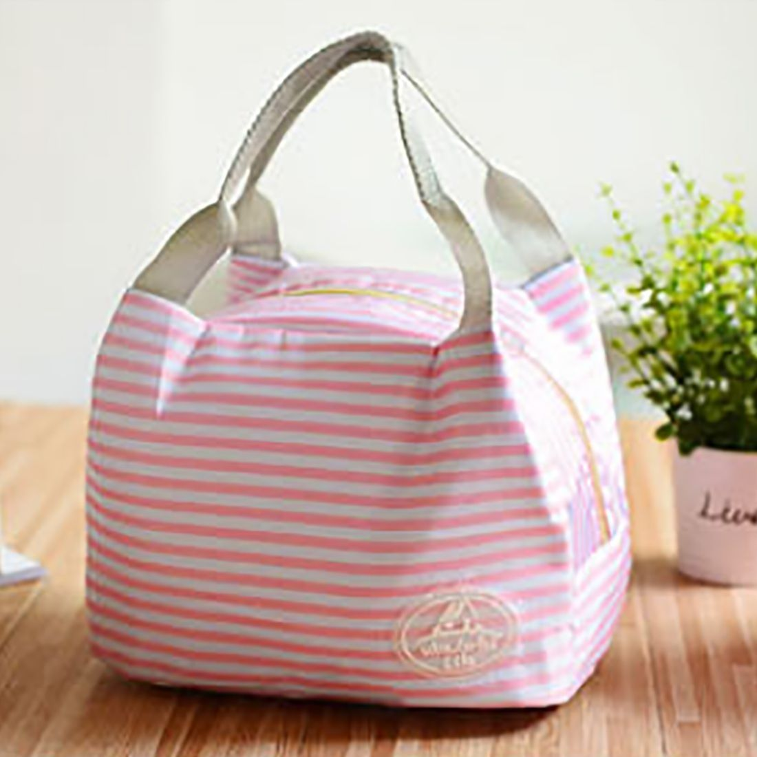 40ae0a41af31b Generic Simple Design Reusable Picnic Lunch Bag Outdoor Thicken ...