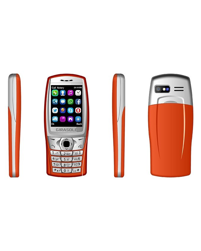 Girasole G3 - 2 2-inch Dual SIM Mobile Phone - Orange Price