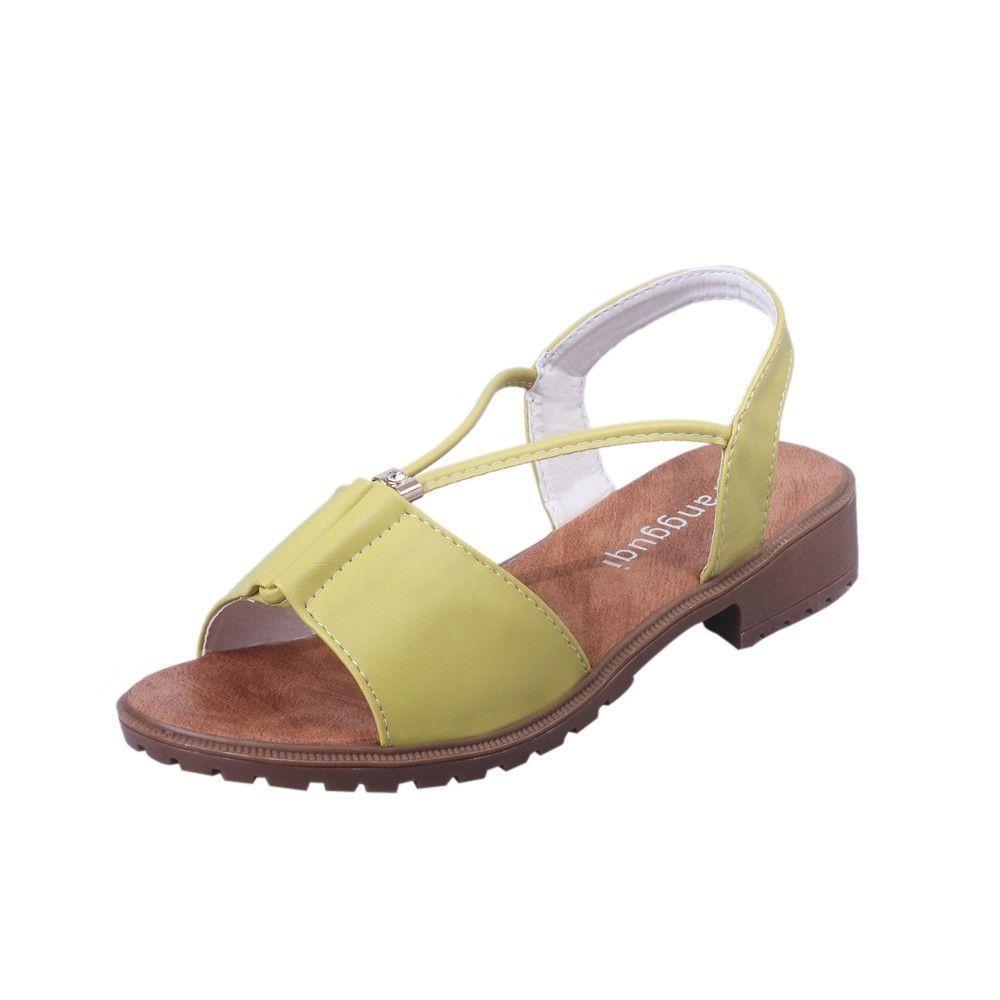 174e2947bd8f6f Neworldline Fashion Women Ladies Shoes Bohemia Flat Shoes Sandals ...