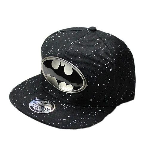 be6e1bc78109 Fashion Tanson New Fashion Adjustable Baseball Laugh Cap Snapback Batman  Hip-hop Hat Unisex