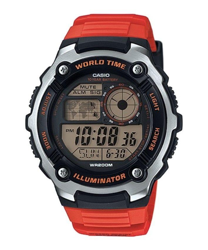 9fde48e7b سعر Casio AQ-S810WC-4A Resin Watch - Red فى مصر   جوميا   ساعات ...