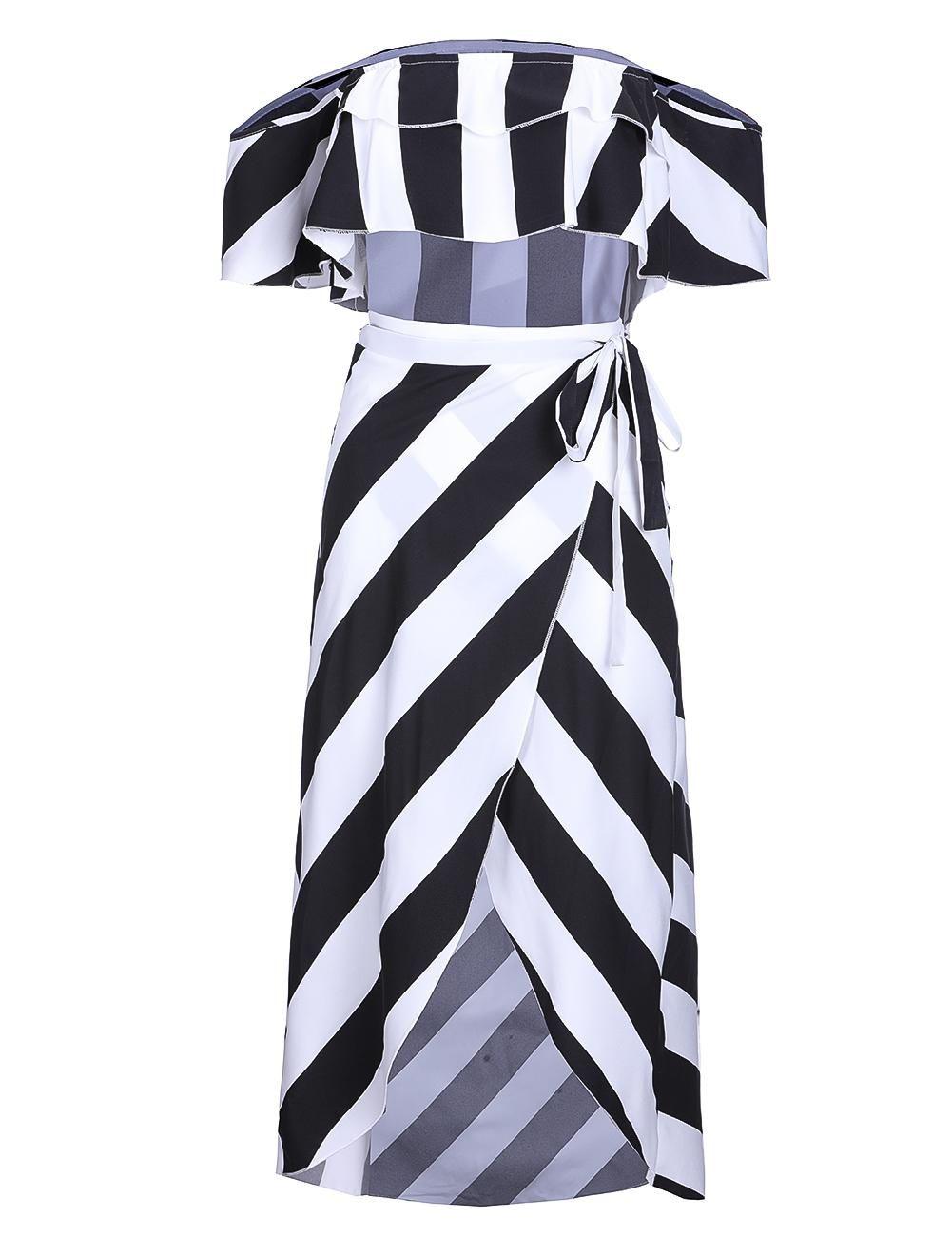265a960690 Fashion Hequeen Crop Top And Skirt Set Ruffles 2 Piece Set Women ...