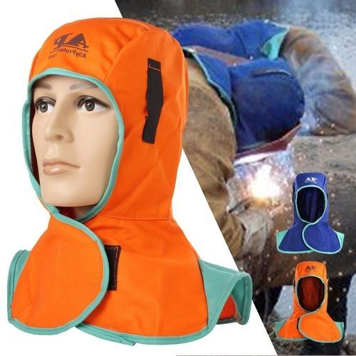 Flame retardant welding head neck protective hood welder head cap safety