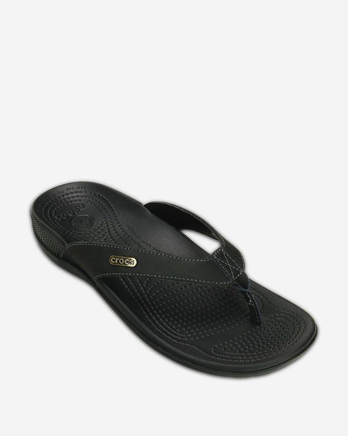 19c04363a9ca Buy Crocs SlipcOn Flip Flop - Black in Egypt