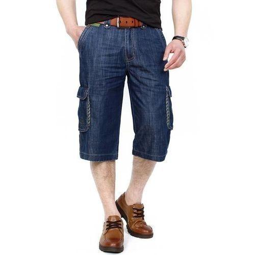 02f6079200 Fashion AFSJEEP Mens Summer Outdoor Multi-pocket Loose Straight Leg ...