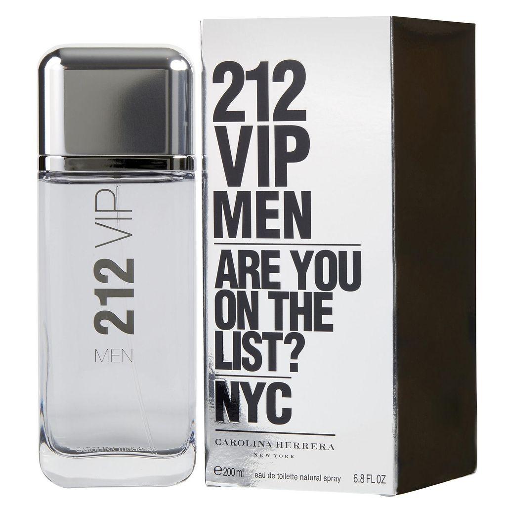 Carolina Herrera 212 Vip Edt For Men 200ml Perfumes Women Edp 80ml
