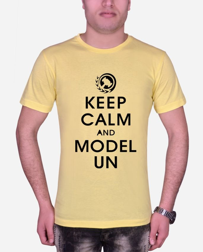 Marley Round Neck Impossible T-shirt – Yellow