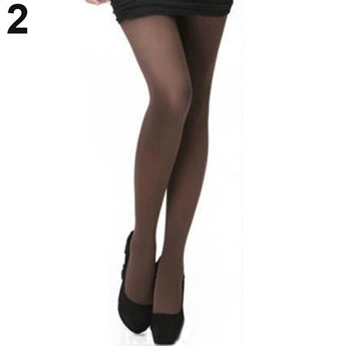 8b9d411ef56 Sanwood Women Fashion Pure Color 120D Opaque Footed Tights Sexy ...