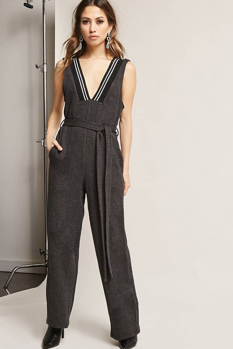 4ba98e1a29 Forever21 French Terry Wide-Leg Jumpsuit Price in Egypt