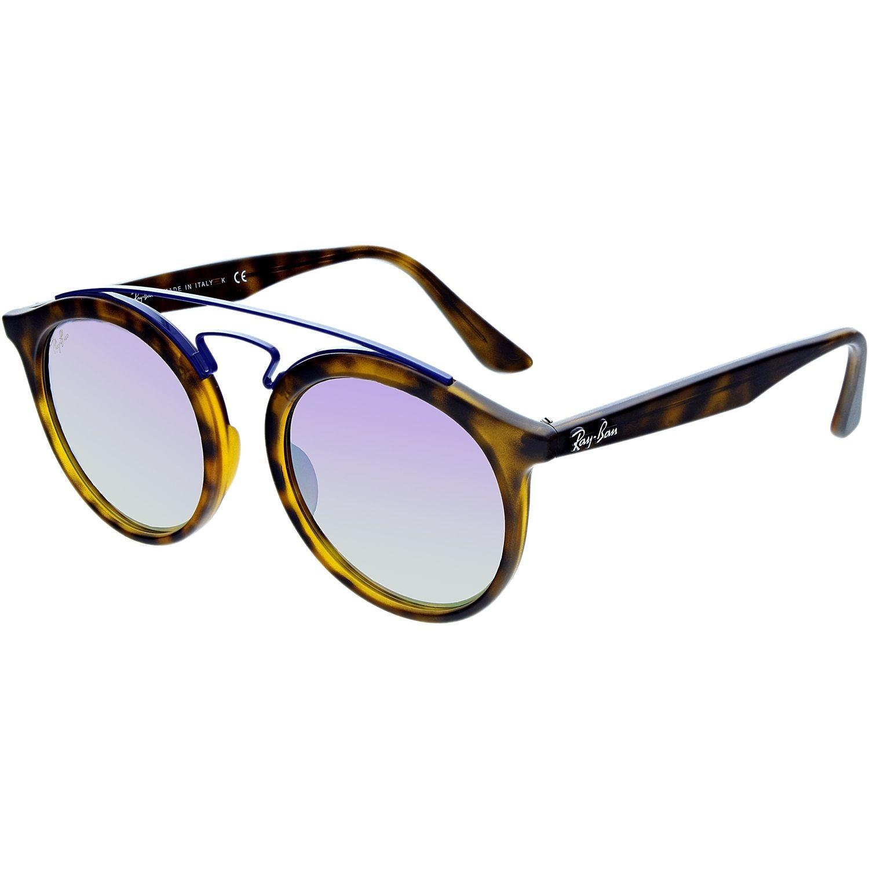 9d772e01f474 Walmart Ray-Ban Men's New Gatsby RB4256-6266B0-49 Tortoiseshell Round  Sunglasses