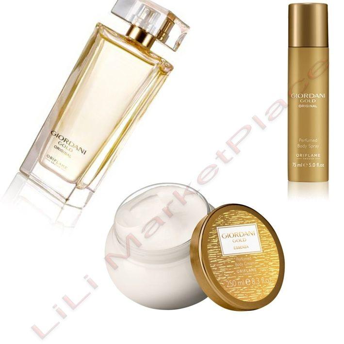 Oriflame Giordani Gold Original Edp 50ml Deodorant Spray 75ml