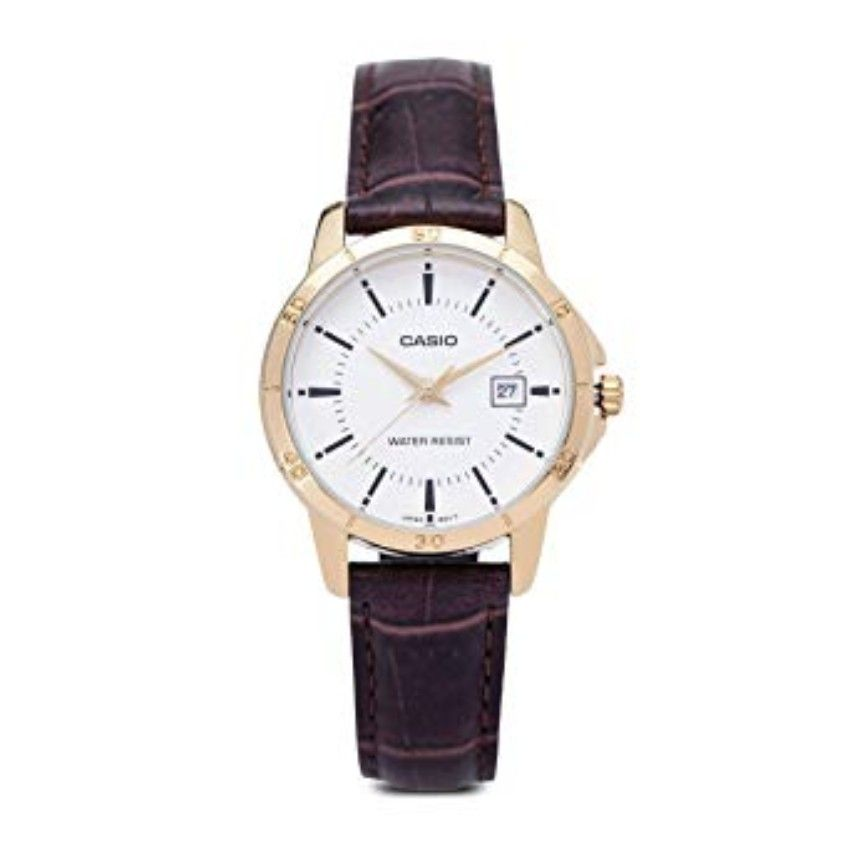 579889b29 سعر Casio LTP-V004GL-7A Leather Watch - Brown فى مصر | جوميا | ساعات ...