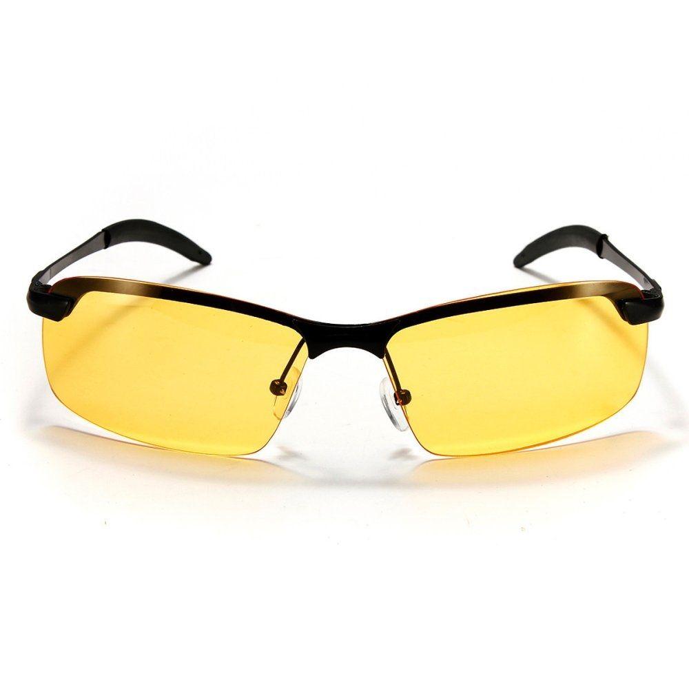 95ba1be838 Universal Yellow High-end Night Vision Driving Glasses Polarized UV  Sunglasses New