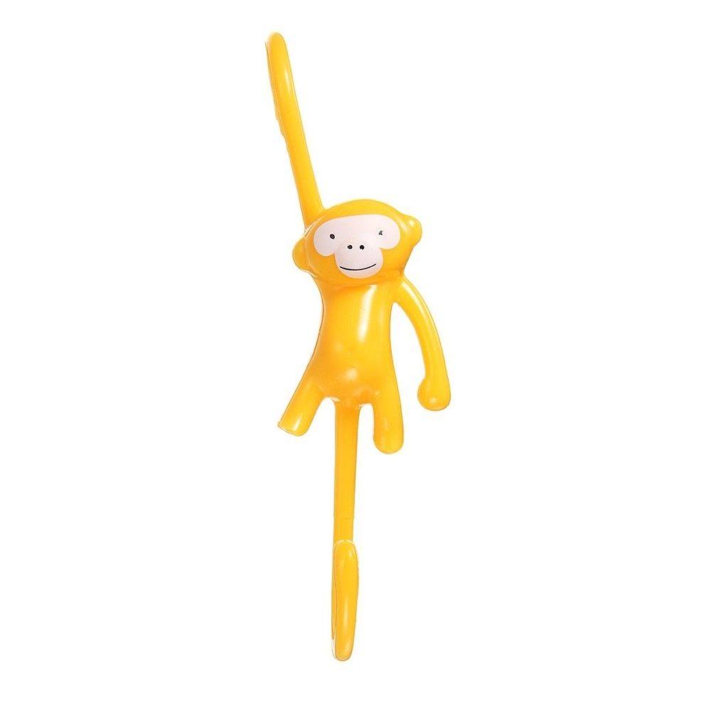 Universal Yellow S-Type Bathroom Monkey Hanging Hooks Home Kitchen ...