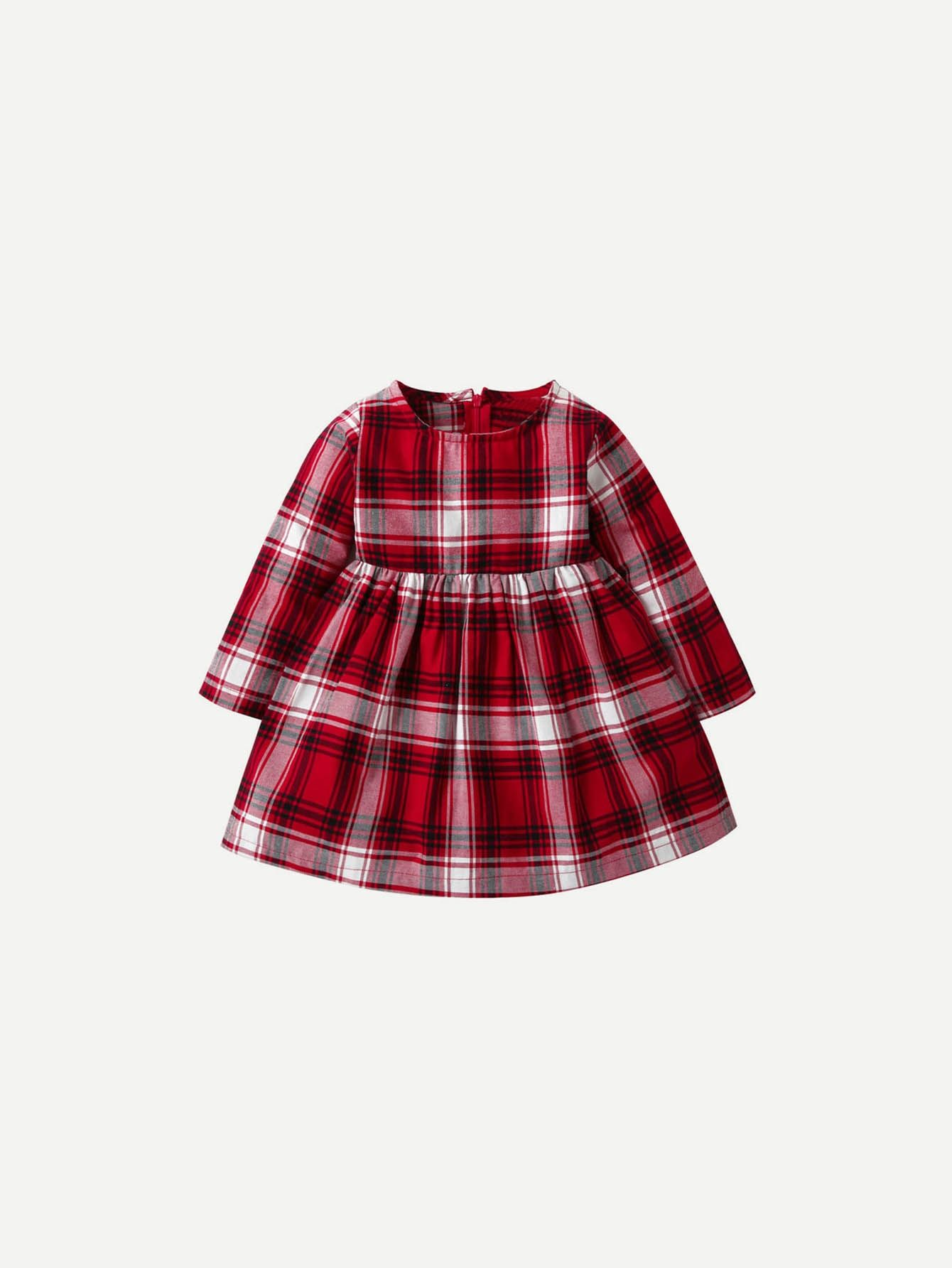 026413aa6e5a SHEIN Girls Plaid Dress Price in Egypt