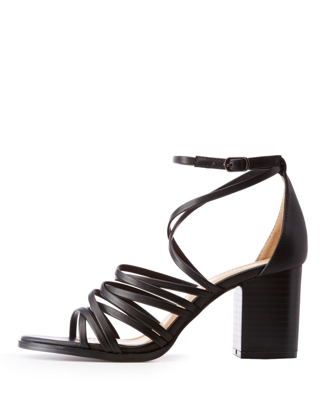 4b09ddeca161 Charlotte Russe Strappy Caged Sandals Price in Egypt