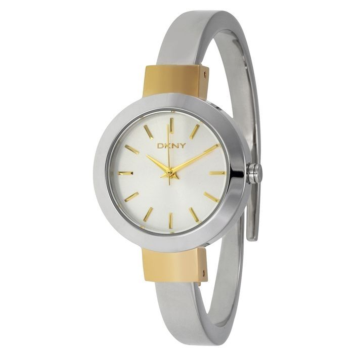68a03645ab8a9 DKNY NY2352 Stainless Steel Watch - Silver