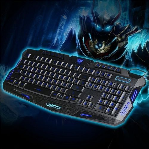 038ee8a4027 Universal LED Backlight Russian Keyboard Wired Backlit Keyboard ...