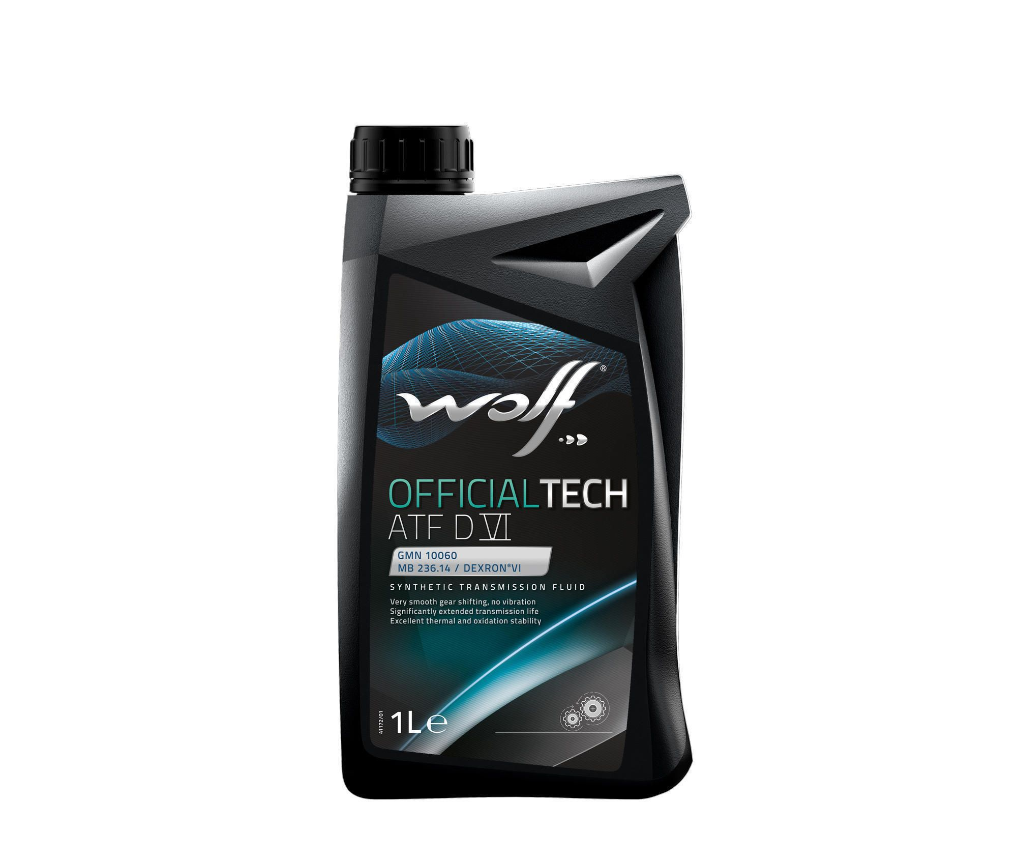 Wolf OfficialTech ATF DVI Fully Synthetic Transmission Fluid - 1 L