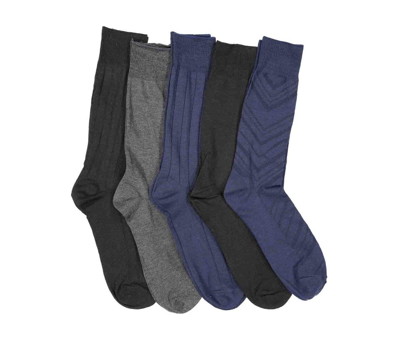 9f8944a7c5 Brands Liquidation Perry Ellis Men s Portfolio Diagonal Texture 5 Pair Socks