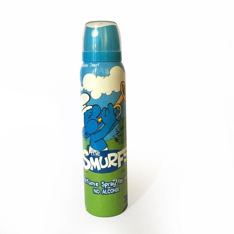 United Care The Smurfs Perfumed Spray for Kids - 120ml - Harmony Smurf