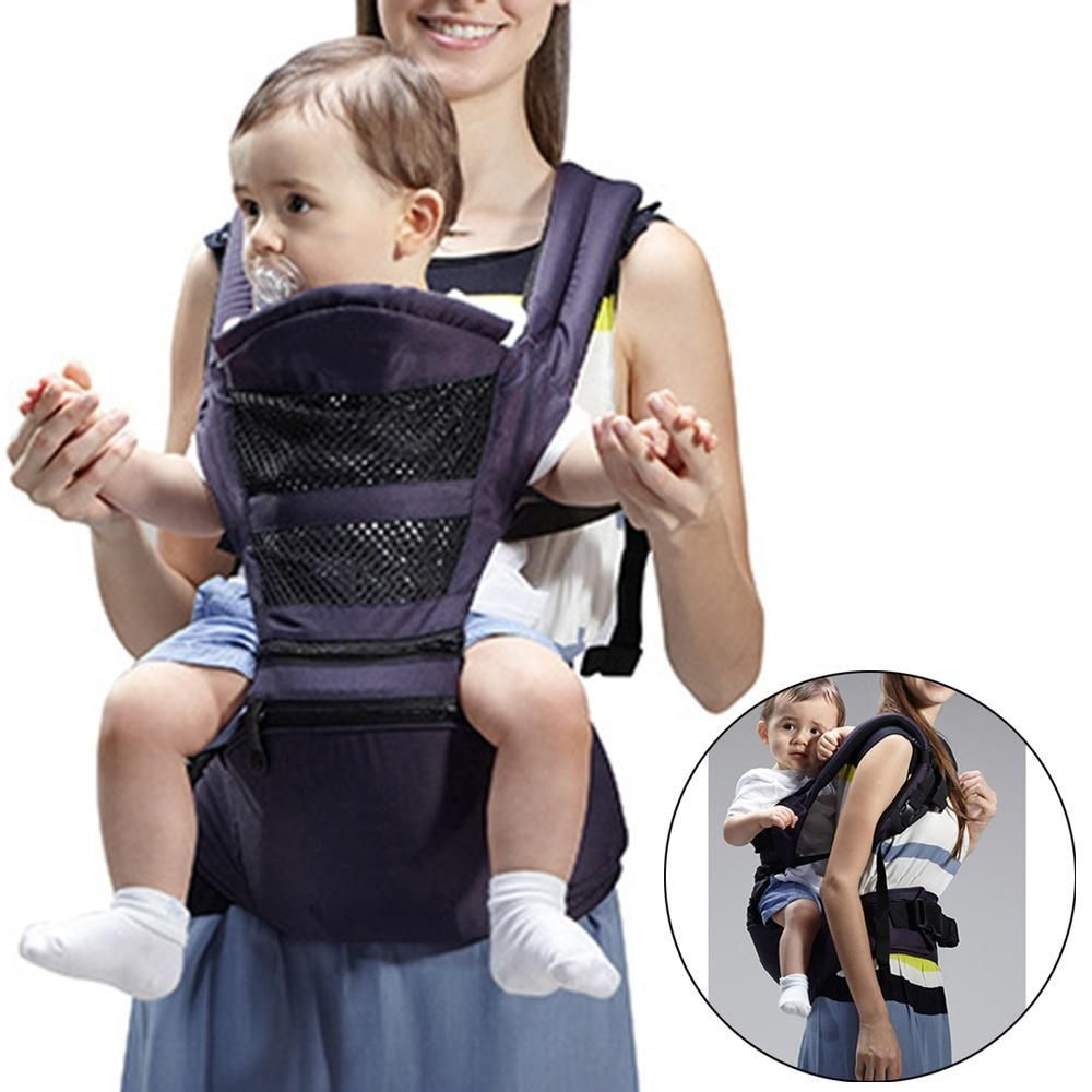 343addaf945 Louis Will Breathable Baby Carrier With Hip Seat And Hood