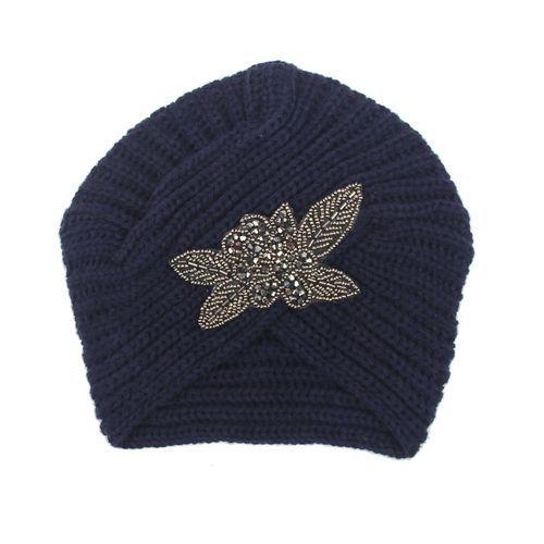 d6d13bceeb1 Buy Eissely Fashion Womens Winter Warm Knit Crochet Ski Hat Braided Turban  Headdress Cap NY in
