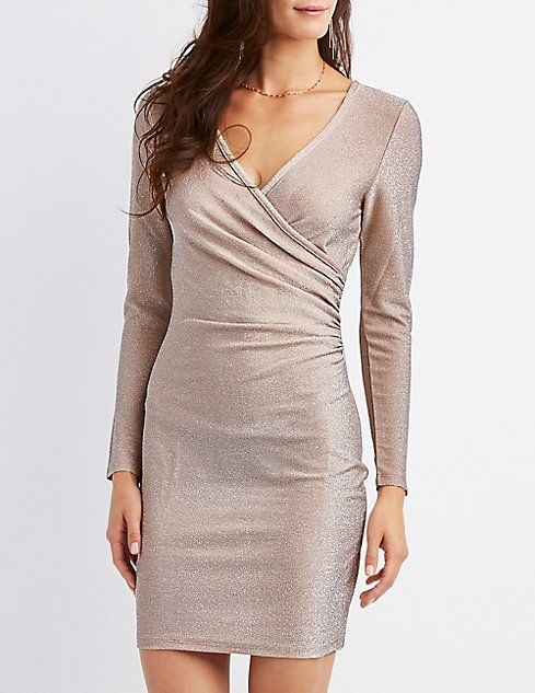 4813a73891d Buy Charlotte Russe Surplice Bodycon Dress in Egypt