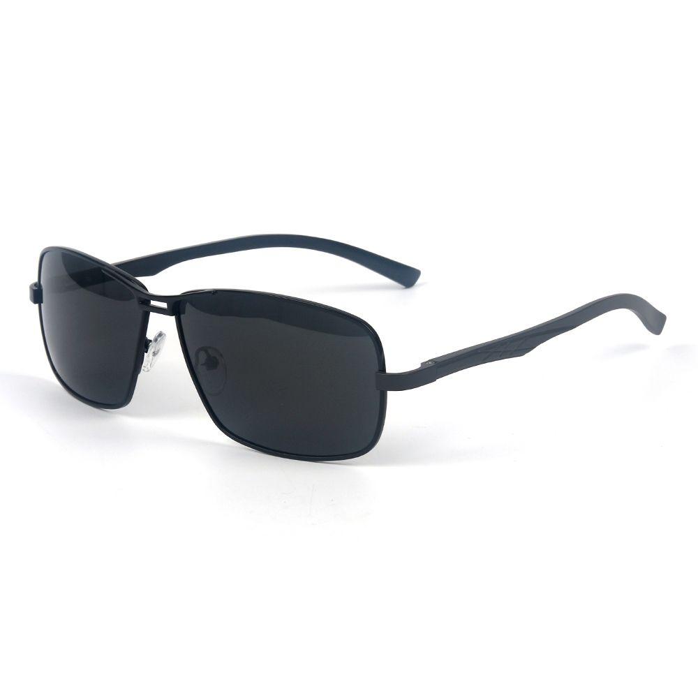 798eb95422 Generic Leadsmart TOMYE P1026 Metal Square Frame Polarized Sunglasses for  Men