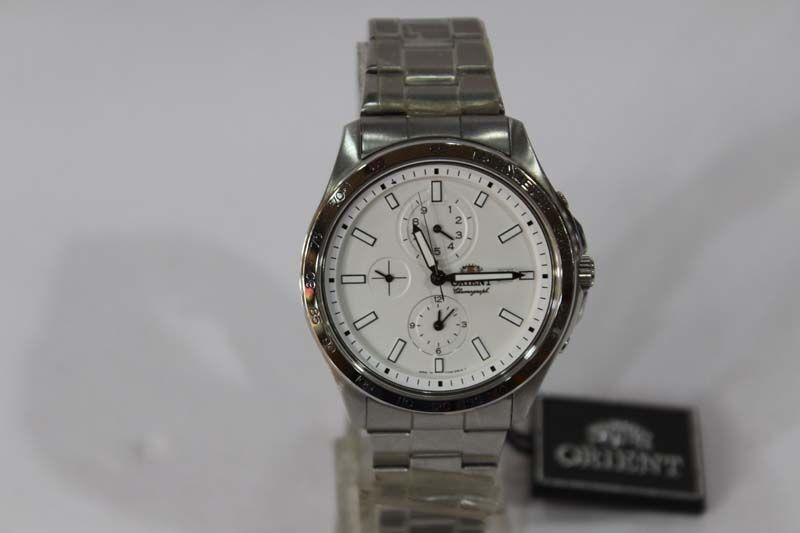 33b29d749 سعر Orient Stainless Steel Watch -For Men - Silver فى مصر | جوميا ...