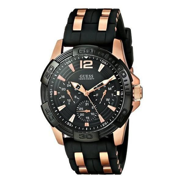 Guess W0366G3 Rubber Watch - Black Price in Egypt | Jumia ...