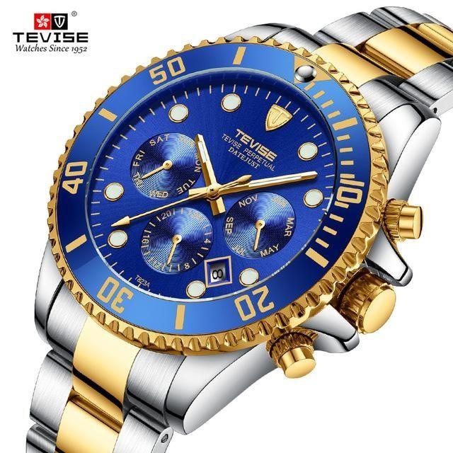 377f1fb5d04 Tevise TEVISE Luminous Men Brand Watch Fashion Luxury Wristwatch Waterproof  Semi-automatic Mechanical Watch Sport Casual Watches T823a