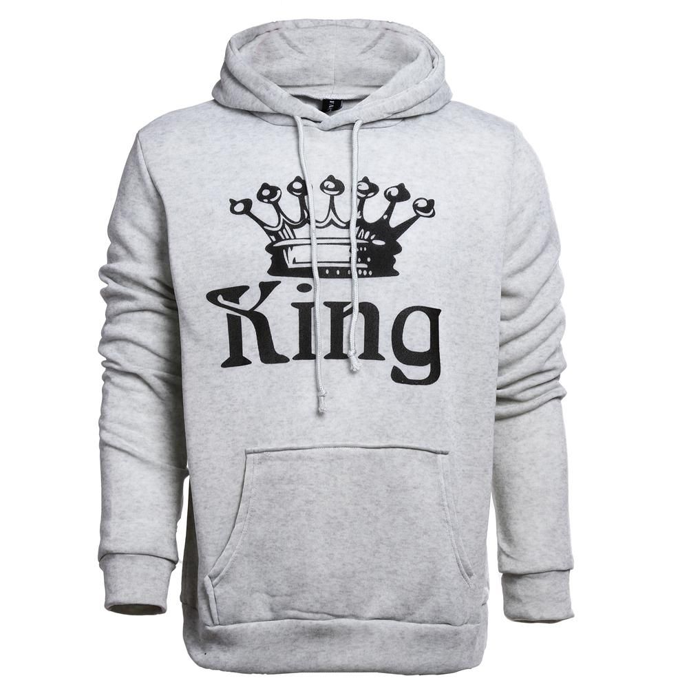 5a8b85d4 Fashion Hequeen Matching His & Hers Couple Hooded Sweatshirt Set ...