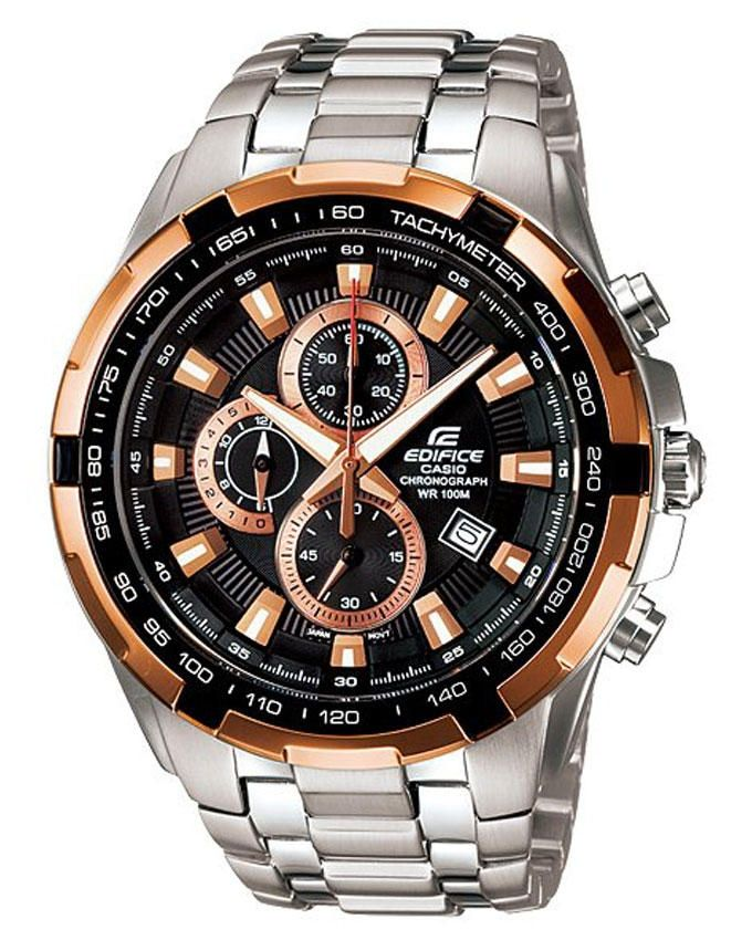 0d415cb2c سعر Casio EF-539D-1A5 Stainless Steel Watch - Silver فى مصر | جوميا ...