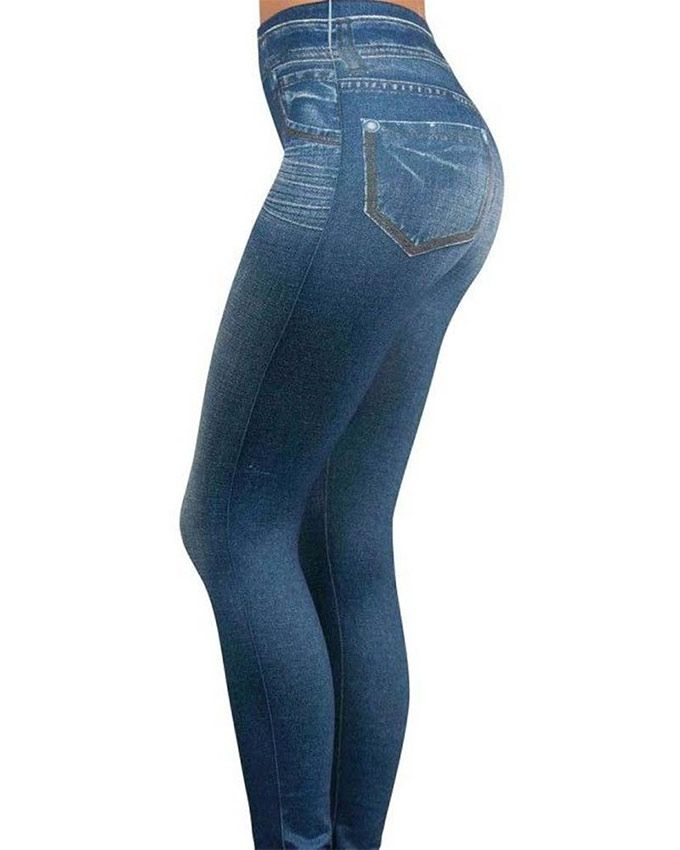 62fd5bf7be408 Slim Jegging By Zlimmy Blue Skinny Leggings Pant For Women | Health ...