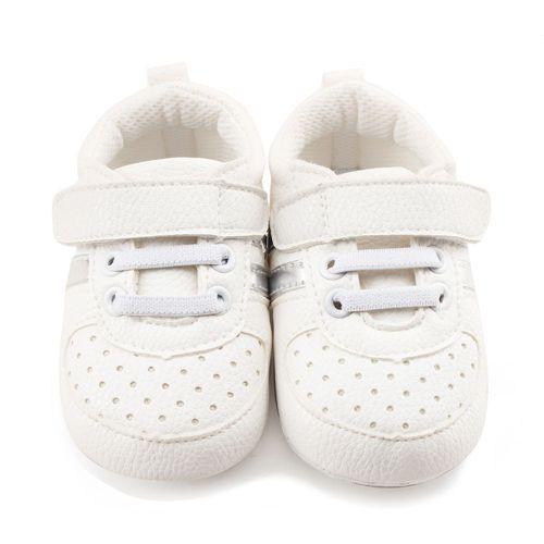 17f4aea05 Yiqu Toddler Girls Boys Crib Shoes Prewalker Soft Sole Sneakers ...