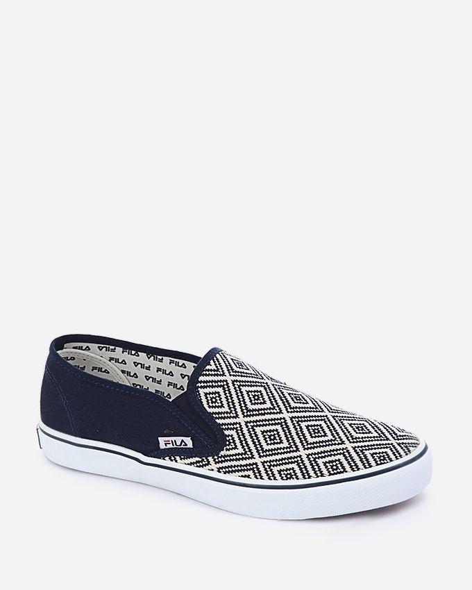 Fila Bento Canvas Shoes - Navy Blue
