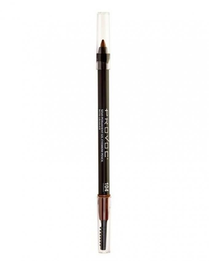Provoc Gel Eyebrow Color No 104 Tease Cosmetics Kanbkam