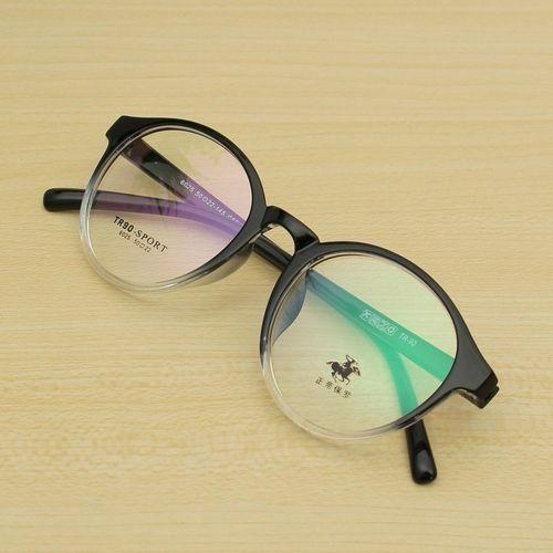 7ae8d1960bdc8 Fashion Men Women Retro Eyeglasses Frame Full-Rim Glasses Vintage Eyewear Clear  Lens HOT Black Transparent