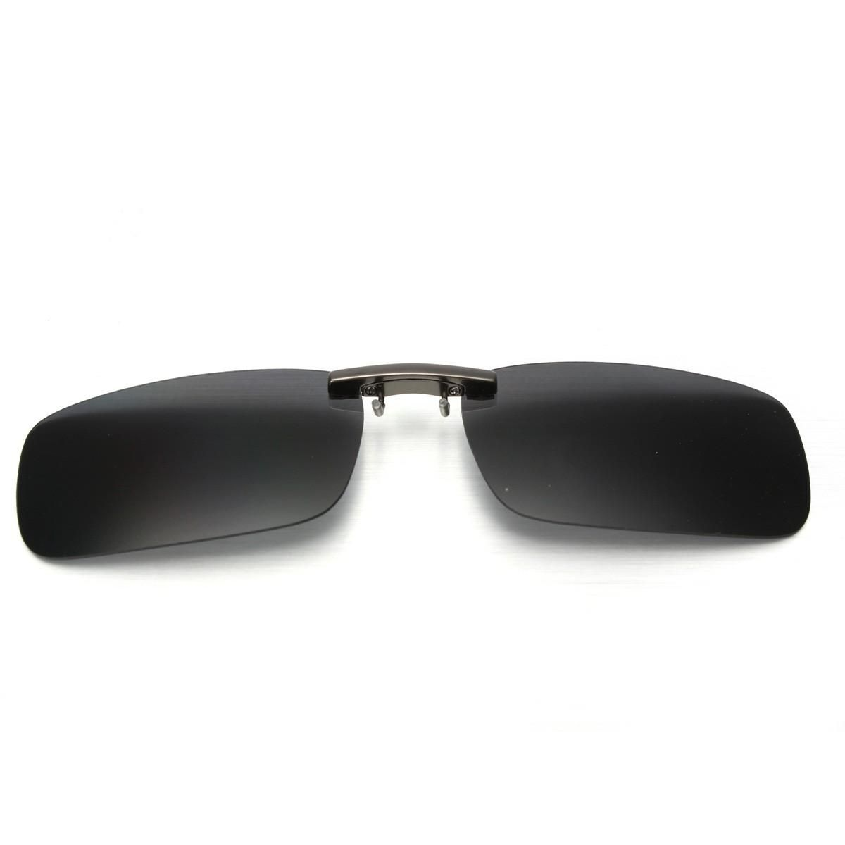 6437cef047 Fashion Polarized Day Night Vision Clip-on Flip-up Lens Driving Glasses  Sunglasses HOT