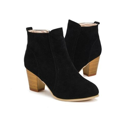 d27f59eda80 Fashion Bliccol High Heel Shoes Autumn Winter Boots With High Heels ...