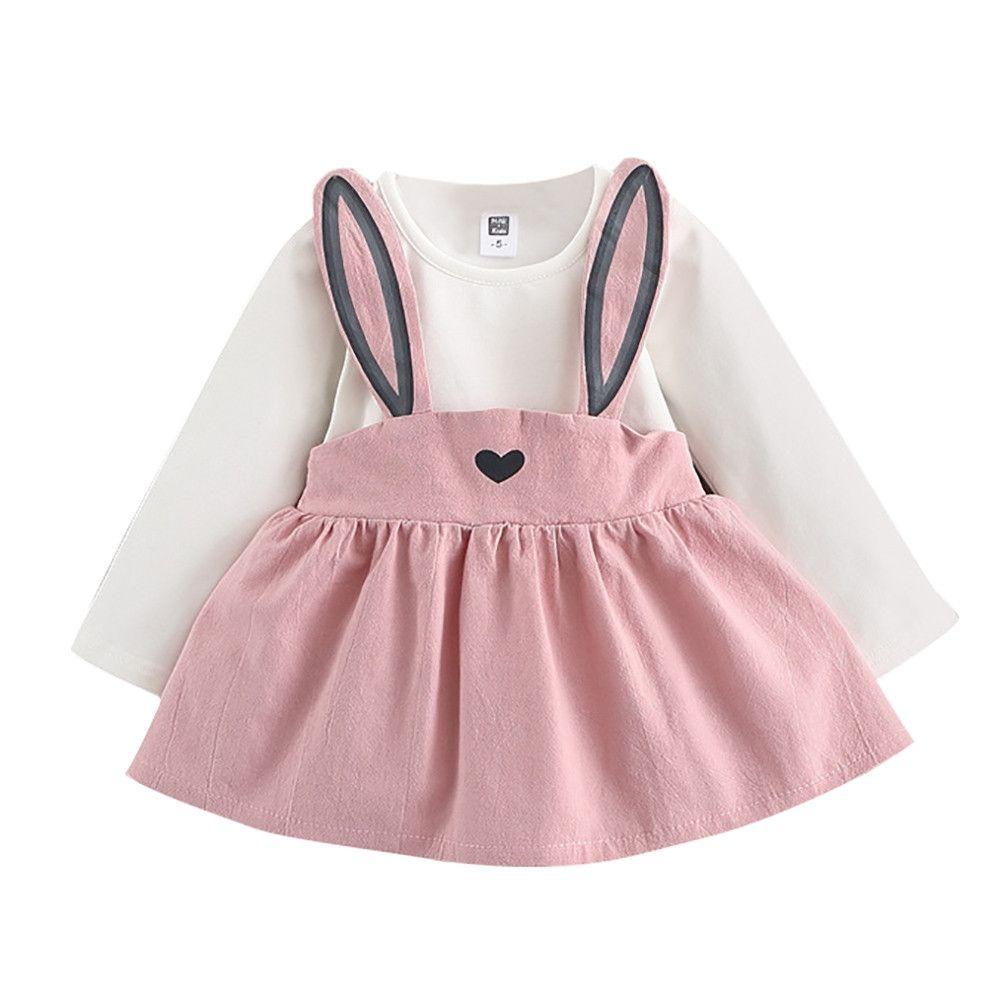 03ea1d1d8 Buy Generic Fashion0-3 Years Old Autumn Baby Kids Toddler Girl Cute Rabbit  Bandage Suit