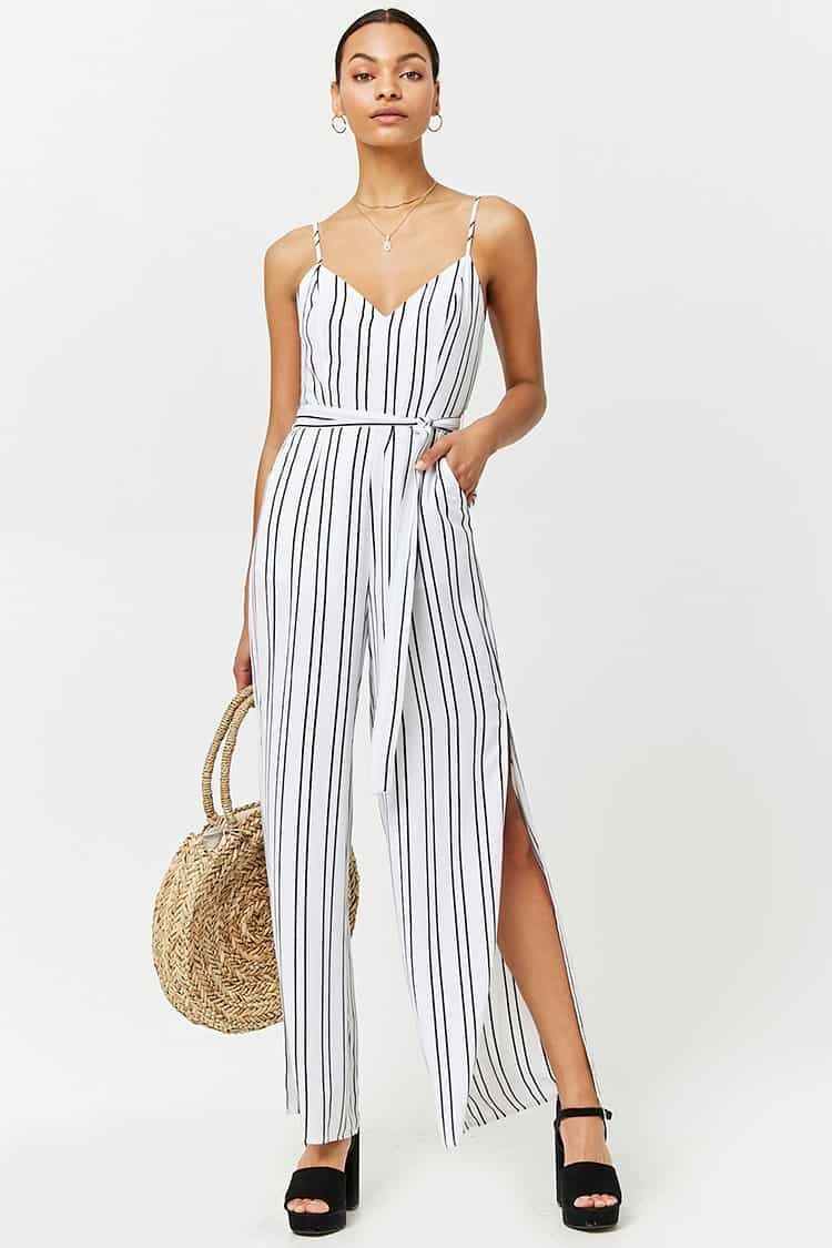 caad6c5cdb3b Forever21 Stripe Cami Jumpsuit Price in Egypt