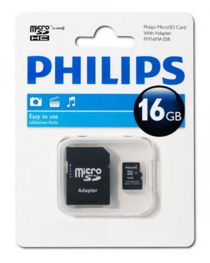 Philips 16GB Class 10 Micro SD Card