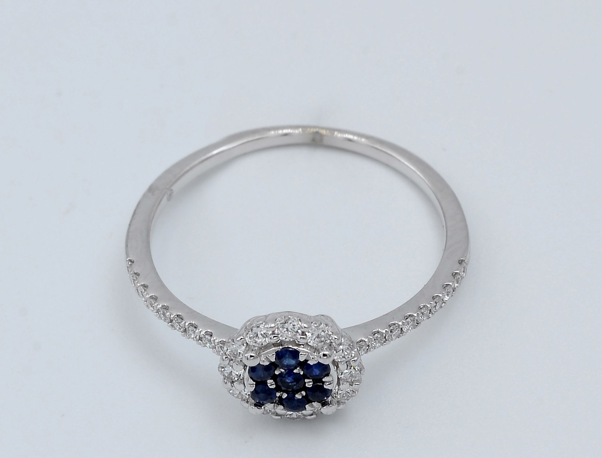 f5b1eb7de2d SIRAN by IRAM Diamond   Blue Stone White Gold Ring Price in Egypt ...